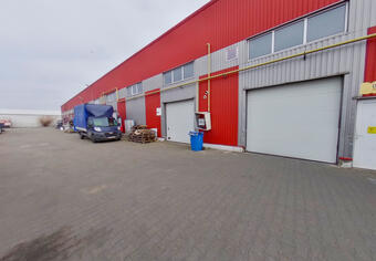Warehouse 1857 sqm day rent Arad
